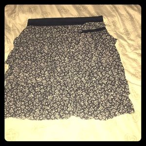 Abercrombie fitted flapper skirt